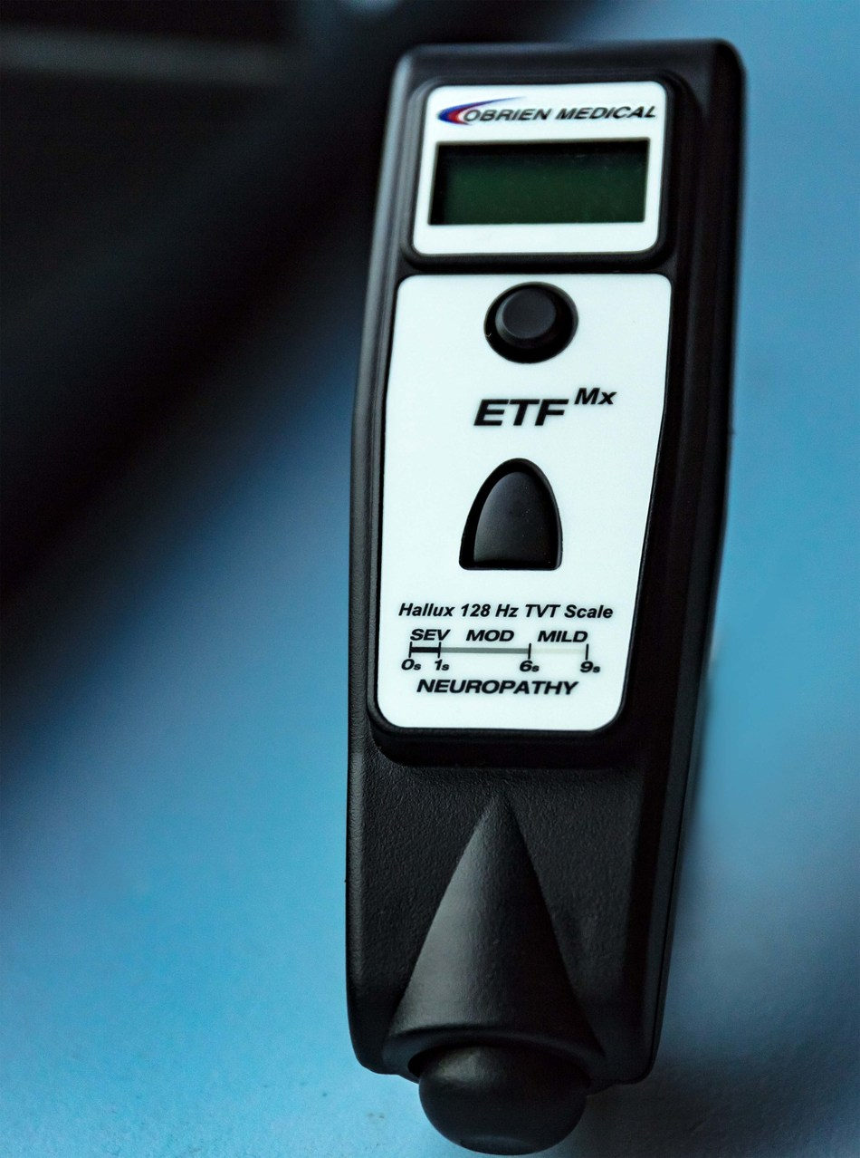 ETFMx-Multi-frequency Electronic Tuning Fork