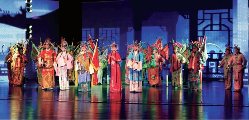 Chinese Opera: Chuzheng (Go Out To Battle)