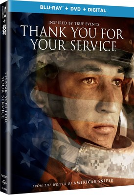 From Universal Pictures Home Entertainment: Thank You For Your Service