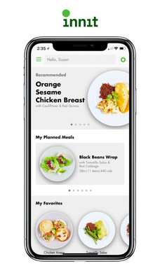 Innit makes home cooking more accessible by recommending delicious personalized meals for you and your family based on diet, allergies and dislikes.