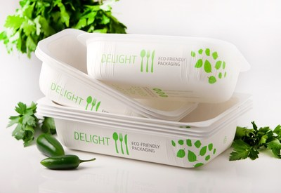 PinnPACK, a Los Angeles-based thermoforming company that specializes in sustainable food packaging, is bringing DeLight's first-of-its-kind hybrid foodservice tray to North American markets.