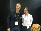Mouvent CBO Reto Simmen (left) & Ivy Chen from TPF (right) during the interview