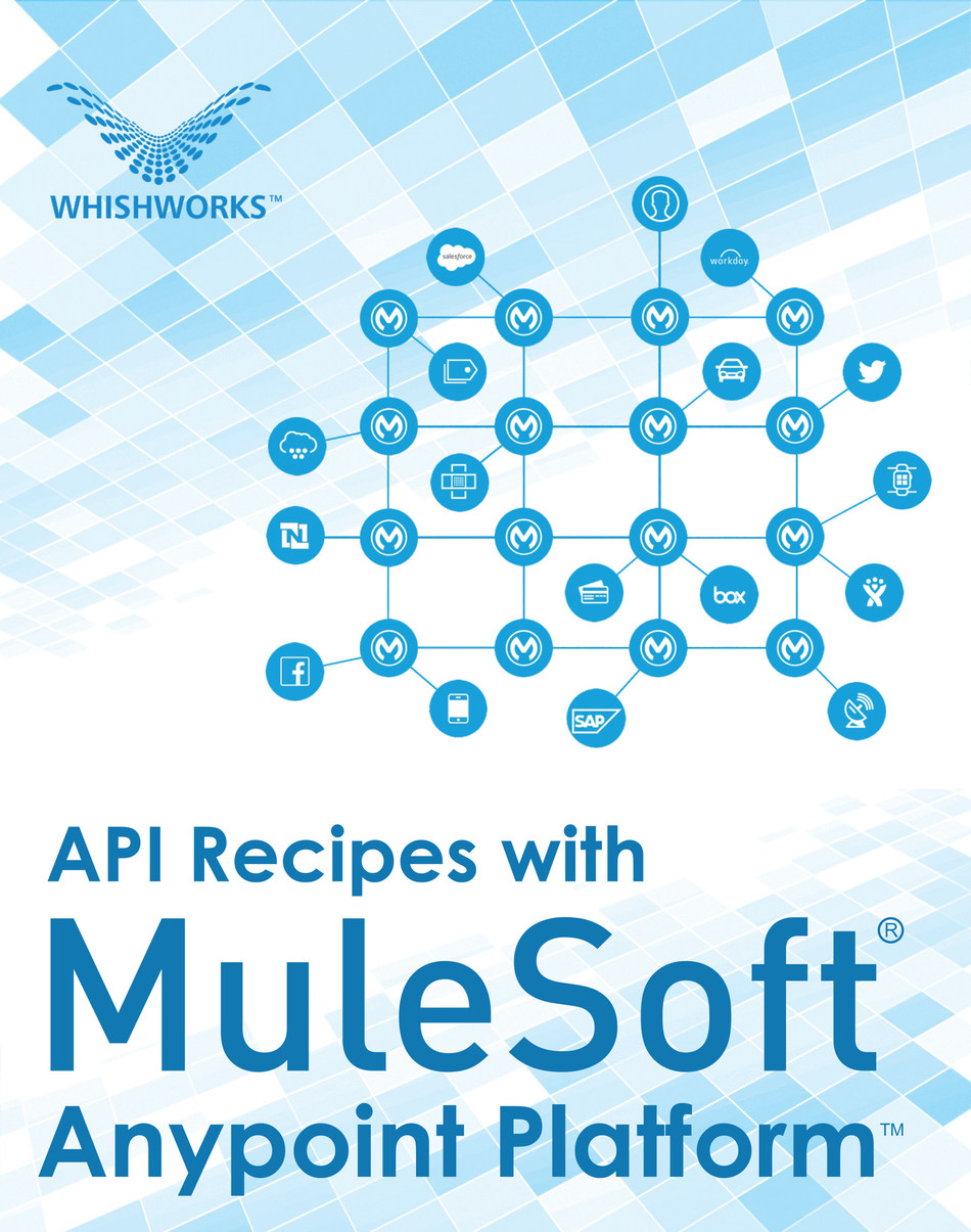 API recipes for MuleSoft's Anypoint Platform™ (PRNewsfoto/WHISHWORKS)