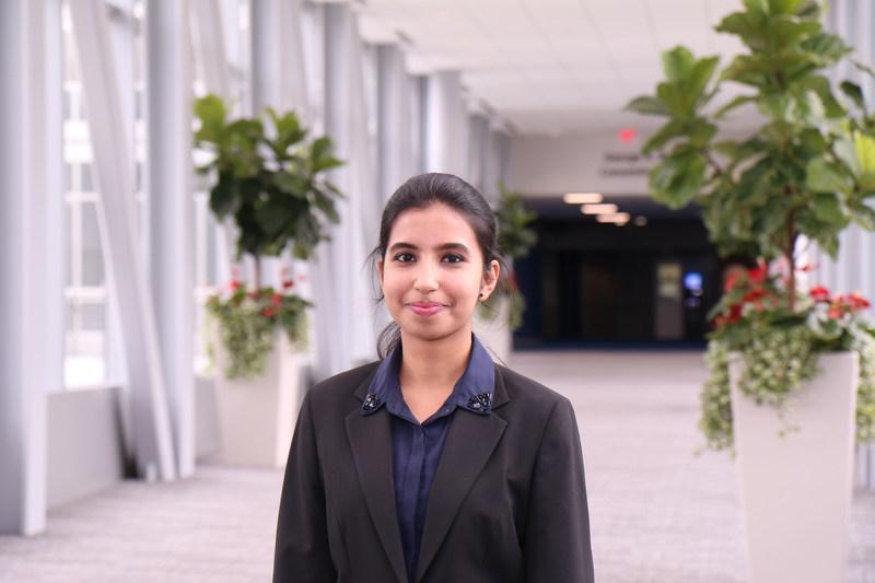 Jain University student Kavya Ramesh represents India at IMA's Student Leadership Conference in Houston, Texas, USA (PRNewsfoto/(IMA) Institute of Management Ac)