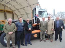 Chautauqua County New York Deploys Orange EV Pure Electric Terminal Truck
