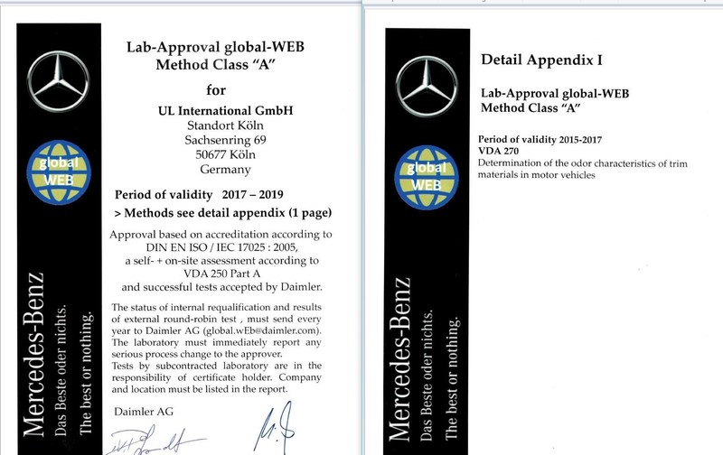 UL Koeln Certificate