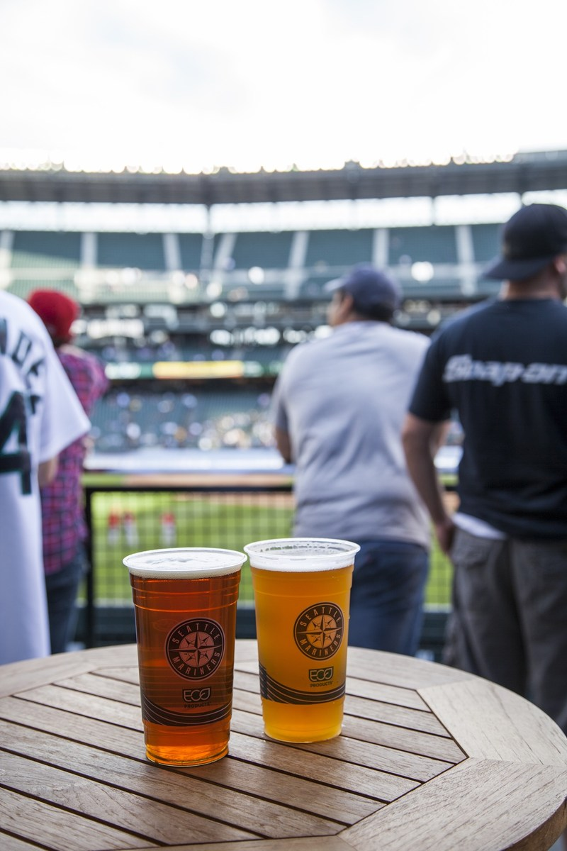 """Since 2013, Eco-Products has been the preferred provider of all compostable serviceware to Safeco Field and the Seattle Mariners. That includes compostable cups, plates, trays and utensils. """"We're proud to partner with the Seattle Mariners, and we're thrilled to see everyone's hard work pay off with the 2017 Green Glove Award,"""" said Sarah Martinez, director of marketing at Eco-Products. """"This award is truly a team effort and a huge victory for the Seattle Mariners, the community and the planet."""""""