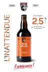 L'INATTENDUE - Une bière extra-légère bien goûteuse à 2.5 % d'alcool ! Fait de sept céréales (avoine, blé, maïs, orge, sarrasin, seigle et riz) qui donne à la bière une couleur dorée aux reflets orangés et ronde en bouche. L'Inattendue est le choix idéal pour une consommation responsable. (Groupe CNW/Brasseurs du Monde)