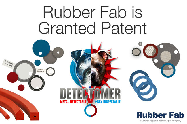 Rubber Fab's Detectomer® portfolio encompasses a full range of Metal Detectable and X-Ray Inspectable sanitary gaskets and o-rings.