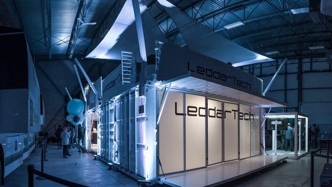 The Leddar Ecosystem pavilion