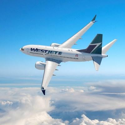 Boeing 737 MAX 8 de WestJet (Groupe CNW/WestJet)