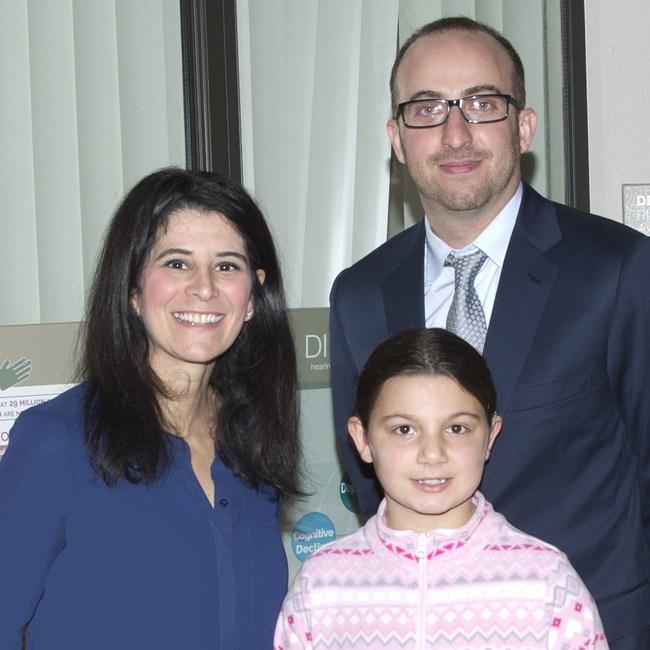 Dr. Perle, Dr. Sandler, and Emma.