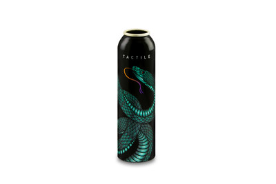 Ball Corporation won a AEROBAL 2017 World Aluminium Aerosol Can Award for its Tactile can, which the company designed and produced. Ball's innovative design and distinctive tactile print finish were brought to life by a snake featured prominently on an aluminum aerosol can.