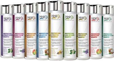 61 percent of middle-age women surveyed prefer to buy shampoos and conditioners that are customized to address their personal hair care goals. At HairRx.com, customers answer a short series of questions focused on their unique hair care goals, scent and lather preferences. Individual profiles are instantly matched to the ideal shampoo and conditioners.