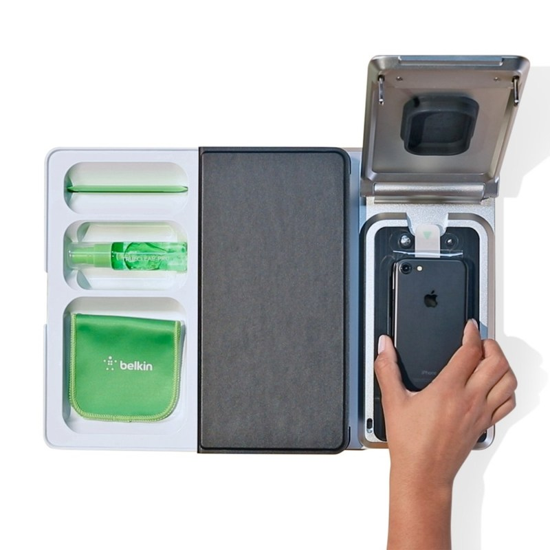 Belkin's TrueClear Pro 2.0 screen protection application system is a unique, first-of-its-kind system designed to apply Belkin screen protectors to devices with unparalleled accuracy.
