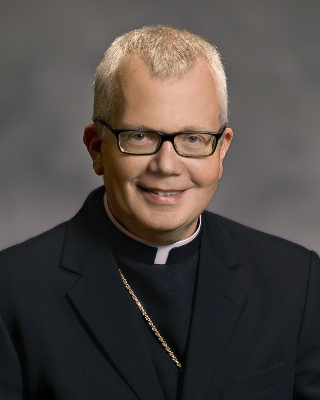 Bishop Donald J. Hying is the new national episcopal advisor of the U.S. Society of St. Vincent de Paul. (Photo: Catholic Diocese of Gary, Ind.)