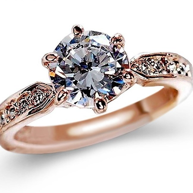 This beautiful Zircon diamond-studded engagement ring is available at 70 percent discount for a limited period only.
