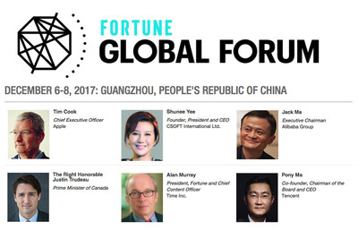 Shunee Yee participates in this year's Fortune Global Forum with top business leaders from around the world.