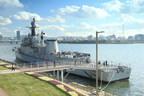 O Seoul Battleship Park abriu em novembro de 2017 às margens do rio Han. (PRNewsfoto/Seoul Metropolitan Government)
