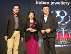 Yogesh Mudras, Managing Director, UBM India, along with jewellery designer Poonam Soni and music director Anu Mallik at the India's Most Preferred event (PRNewsfoto/UBM India Pvt. Ltd.)