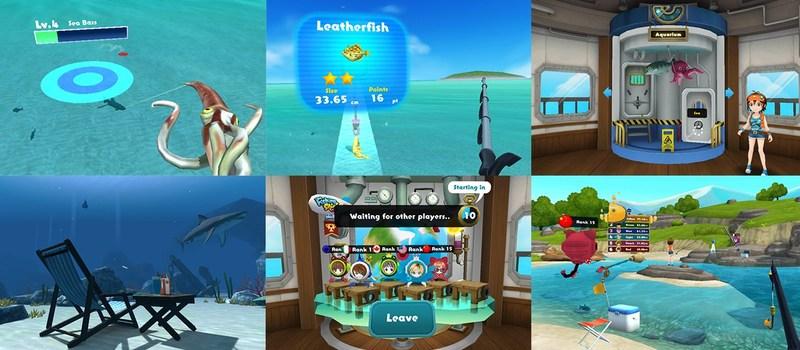 Fishing Star VR screenshots