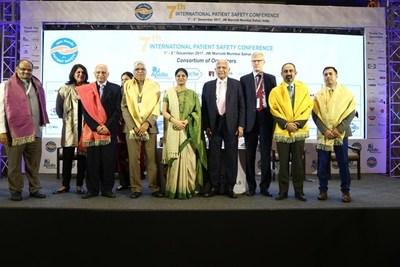 Union Minister of State for Health & Family Welfare Presented With 'Mumbai Declaration on Patient Safety' at the 7th International Patient Safety Conference