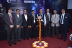 Dignitaries at the lamp lighting ceremony of IFSEC India 2017, South Asia's largest Security and Surveillance show at Pragati Maidan, New Delhi. (PRNewsfoto/UBM India Pvt. Ltd.)