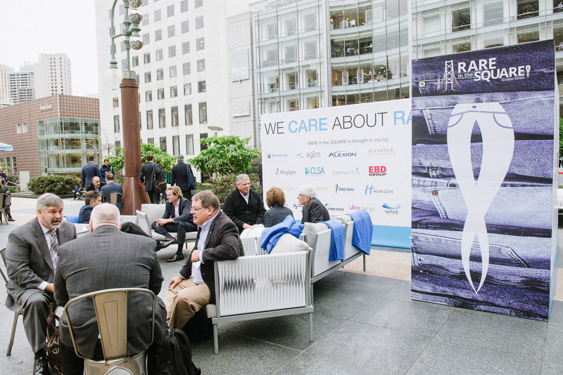 Rare Disease Innovators, Investors, Industry Partners, and Patient Groups Convene in San Francisco's Union Square at RARE in the SQUARE 2016