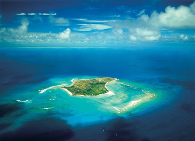 Necker Island in the British Virgin Islands (PRNewsfoto/Necker Island)