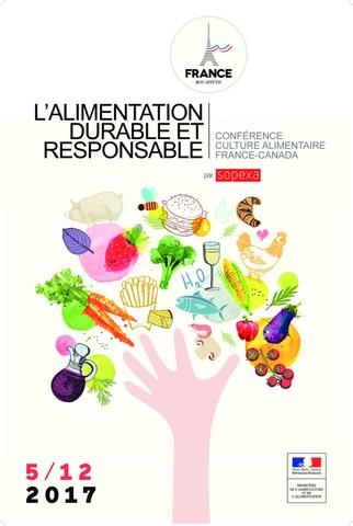 Avec le soutien du Ministère français de l'Agriculture et de l'Alimentation (MAA), la Conférence Culture Alimentaire a abordé les principaux enjeux et les possibles solutions - aussi bien Canadiens que Français- entourant le gaspillage alimentaire. (Groupe CNW/Sopexa Canada Ltée)
