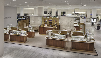 New David Yurman Shop-in-Shop at Holt Renfrew Calgary (CNW Group/David Yurman)