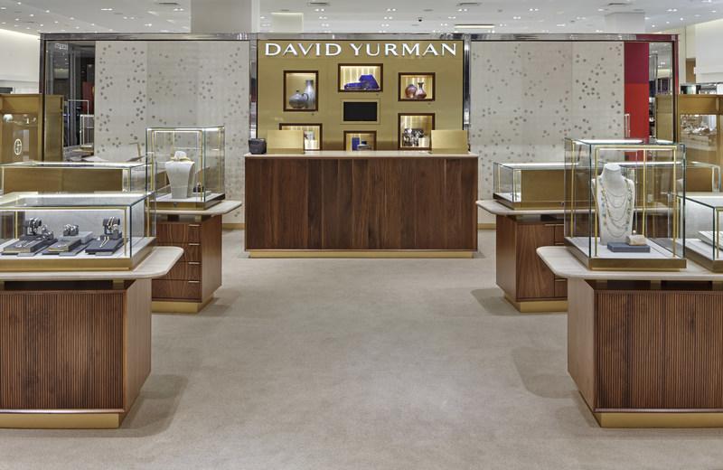 New David Yurman Shop-in-Shop at Holt Renfrew Calgary (CNW Group/David Yurman)