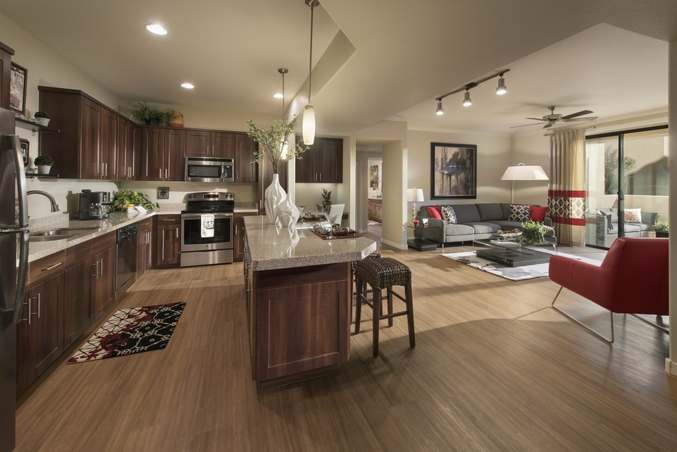 Now open in North Scottsdale, San Portales is Mark-Taylor Residential's newest community in Arizona. San Portales offers a distinctive living experience with expansive floor plans, direct-access two-car garages and elevators located throughout the community.