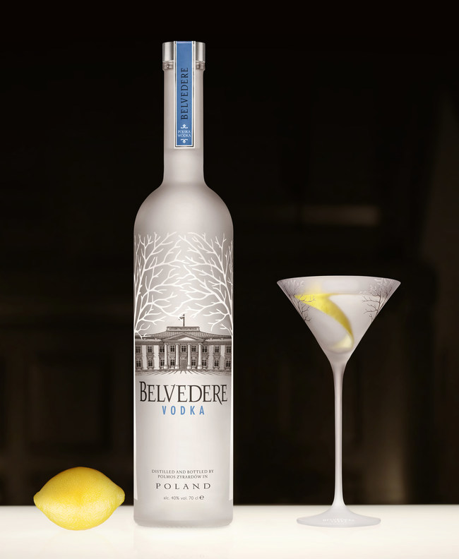 (PRNewsfoto/Belvedere Vodka)...