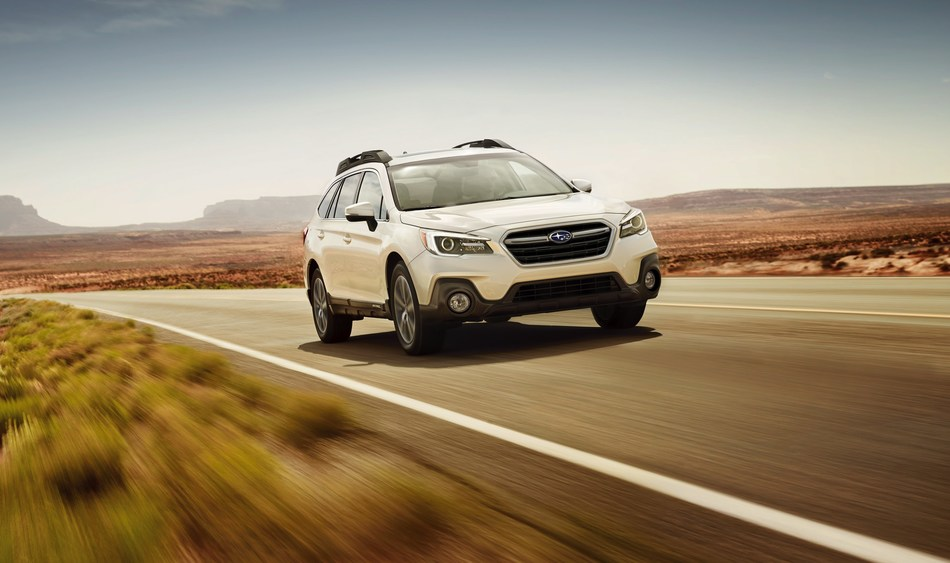 Subaru earns four 2018 IIHS TOP SAFETY PICK+ awards