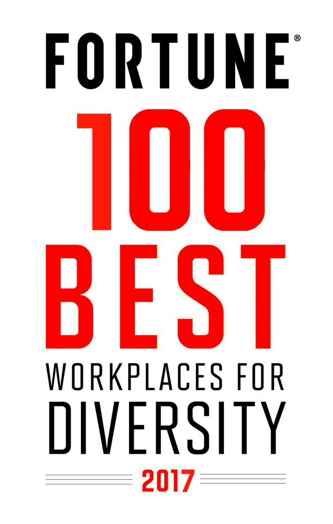 Fortune 100 Best Workplaces for Diversity 2017