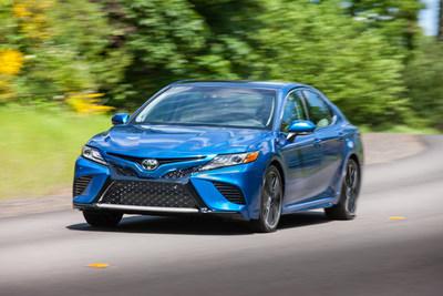 Un total de once vehículos Toyota y Lexus resultaron ganadores del premio MEJOR OPCIÓN DE SEGURIDAD del IIHS para 2018, y el nuevo Camry 2018 recibió el máximo premio: MEJOR OPCIÓN DE SEGURIDAD+.