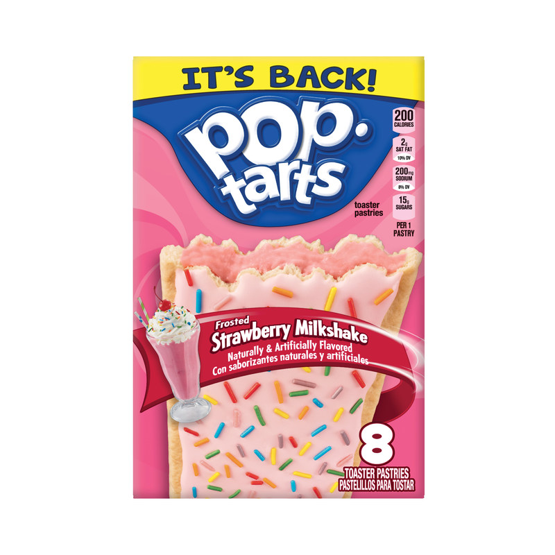 Pop-Tarts® fans will soon have a reason to celebrate the frosty season when highly-requested Frosted Strawberry Milkshake toaster pastries return to store shelves.