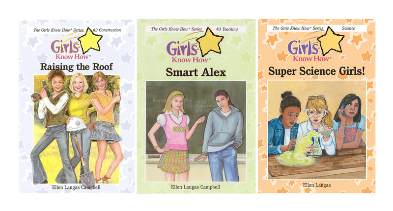 The Girls Know How® book series is dedicated to encouraging girls ages 7 to 12 to explore careers and develop the skills and attitudes that will support them as they grow. The newest book, Super Science Girls! introduces STEM careers. Other books in the series introduce journalism, construction and teaching. Starting at $4.95, books are available at book stores, qvc.com (exclusive set with author autograph), bn.com and girlsknowhow.com.