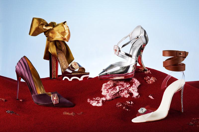 Christian Louboutin commemorative shoes celebrating Star Wars: The Last Jedi