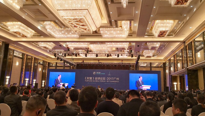 2017 Fortune Global Forum opened in Guangzhou on December 6