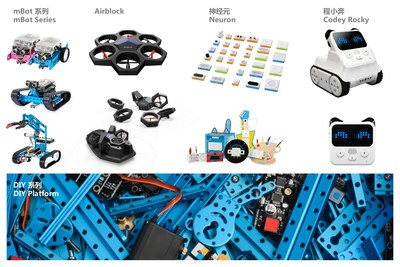 Makeblock has the most complete product line in the industry