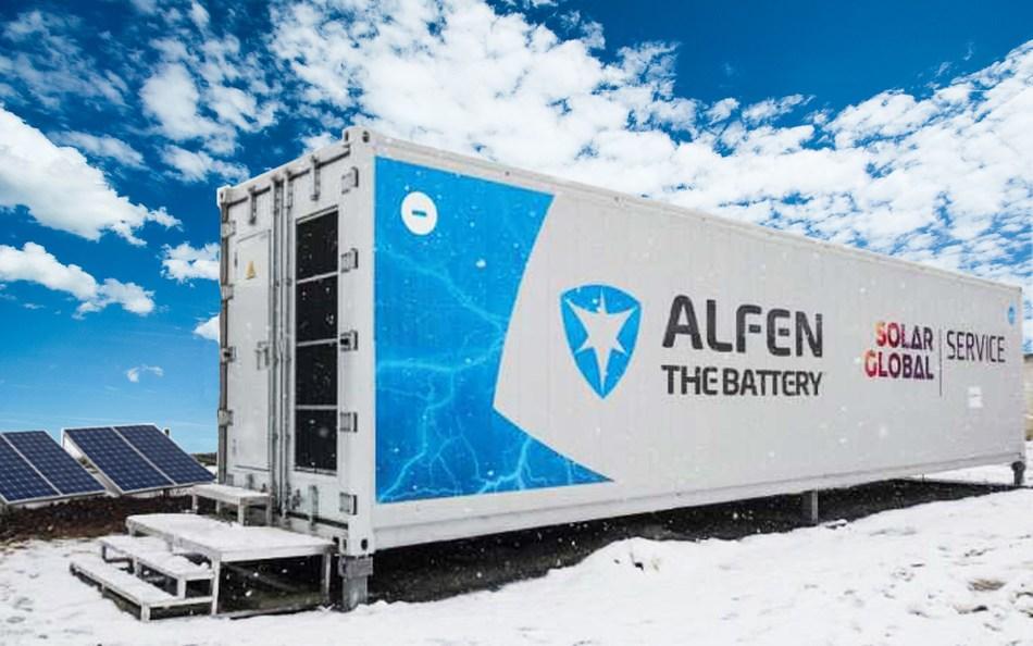 Grand Opening of Alfen's Mega Energy Storage System in Czech Republic (PRNewsfoto/Alfen)