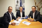 Kay Fischer (E&P Germany / Reisemobil-Service Fischer) and also Pierre Blom and Eric Klinkenberg (E&P Netherlands) will retain their key functions as a management team under the wings of AL-KO Vehicle Technology (in the photo from left to right).