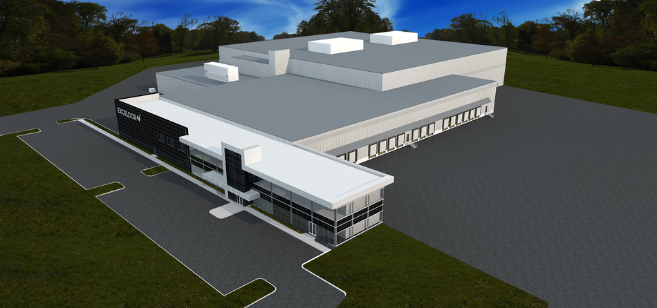 The new distribution centre of Exceldor (CNW Group/Exceldor)