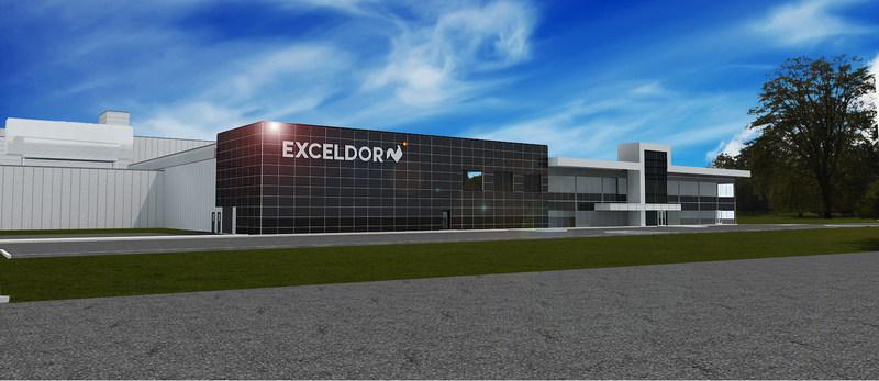 Le nouveau centre de distribution d'Exceldor (Groupe CNW/Exceldor)