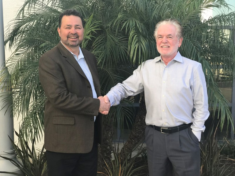 Trase Travers, CEO of ACC (left) and Dr. James Hudson, co-founder and president of ACTA (right)