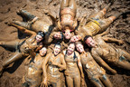 A group of participants at Warrior Dash.