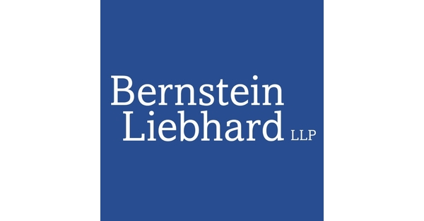 NEW YORK, Sept. 22, 2020 /PRNewswire/ -- Bernstein Liebhard, a nationally acclaimed investor rights law firm, reminds investors of the deadline to file a lead plaintiff motion in a securities class action that has been filed on behalf of investors that purcha…