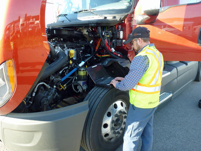 International Truck Chooses PIT Group - New model and engine testing recognizes the value of unbiased, credible fuel efficiency evaluations (CNW Group/FPInnovations)